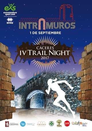 IV Trail Night 2017 Carrera Intramuros