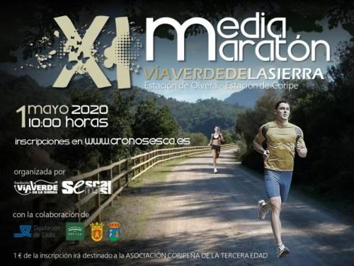 XI Media Maratón Vía Verde de la Sierra