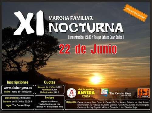 XI Marcha Familiar Nocturna