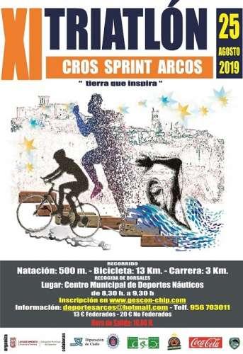 Carrera XI Triatlón Cros Ciudad De Arcos
