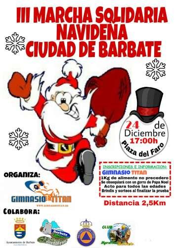 III Marcha Solidaria Navideña Ciudad de Barbate