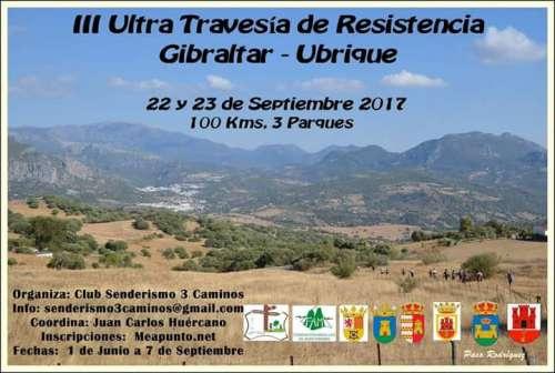 III Ultra Travesía de Resistencia Gibraltar-Ubrique