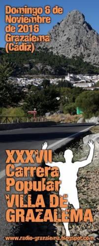 XXXVII Carrera Popular Villa de Grazalema