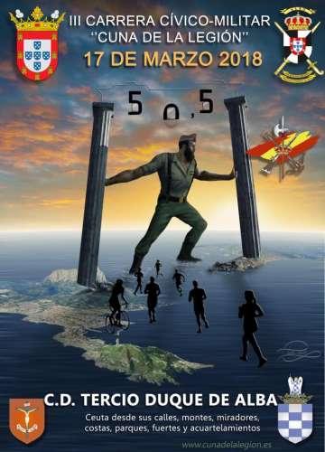 III Carrera Cívico-Militar Cuna de La Legión