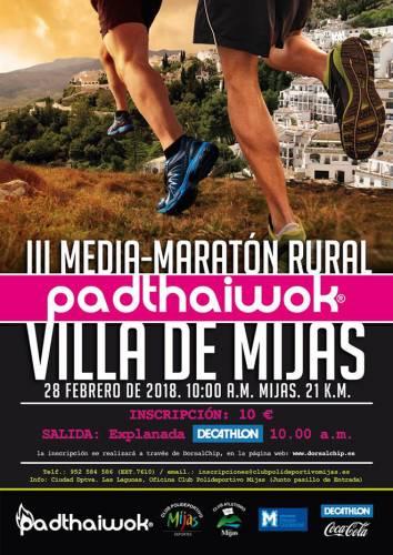 III Media Maratón Rural Padthaiwok