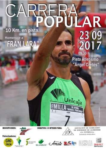Carrera Popular 10km en pista Homenaje a Fran Lara