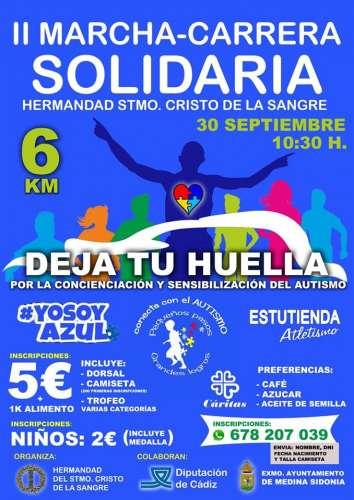 II Marcha-Carrera Solidaria Hermandad Cristo de la Sangre