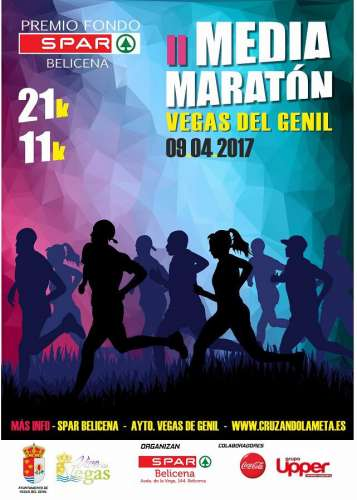 II Media Maratón Vegas del Genil