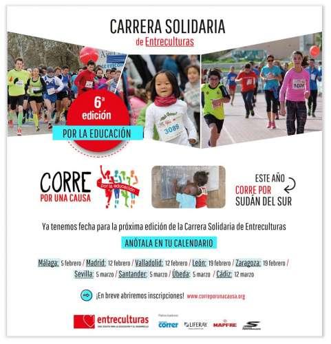VI Carrera Entreculturas Valladolid