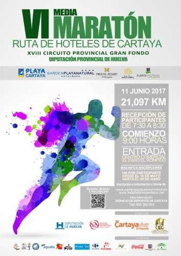 VI Media Maratón Ruta de los Hoteles de Cartaya