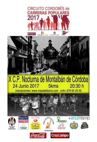 X Carrera Popular Nocturna de Montalbán de Córdoba