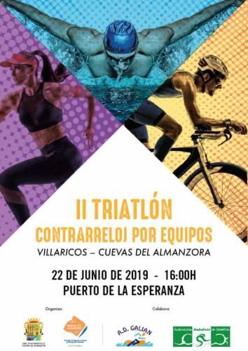 II Triatlón Contrarreloj Por Equipos Villaricos - Cuevas del Almanzora