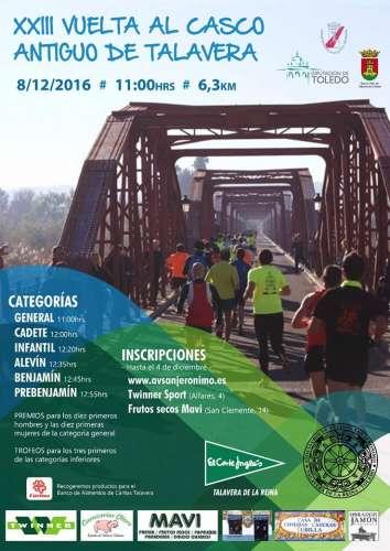 XXIII Vuelta al  Casco  Antiguo de  Talavera