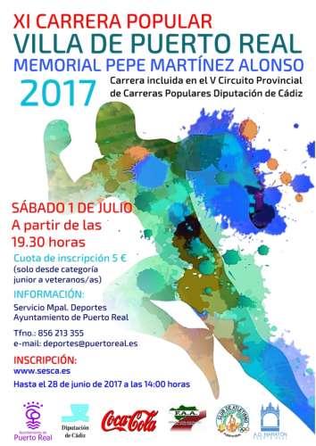 XI Carrera Popular Villa de Puerto Real