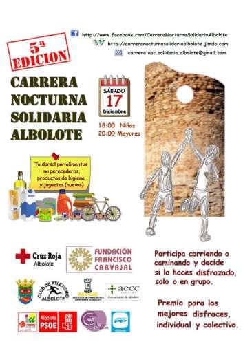 VI Carrera Nocturna Solidaria de Albolote