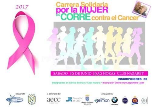 III Carrera Solidaria por la Mujer Corre contra el Cancer