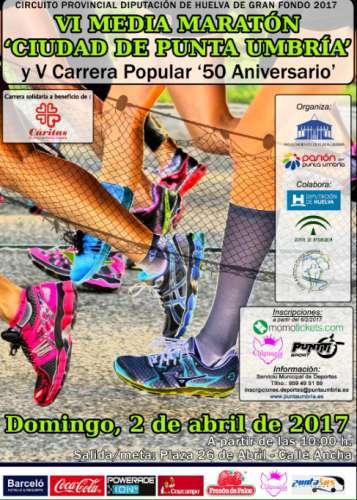 Carrera VI Media Maratón Ciudad de Punta Umbría