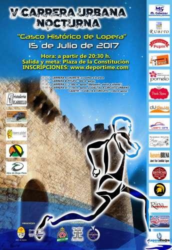 V Carrera Urbana Nocturna Casco Histórico de Lopera
