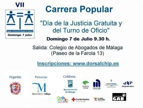 VII Carrera Popular día de la Justicia gratuita y el turno de oficio