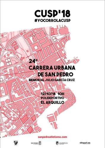 Carrera Popular XXIV Carrera Urbana de San Pedro