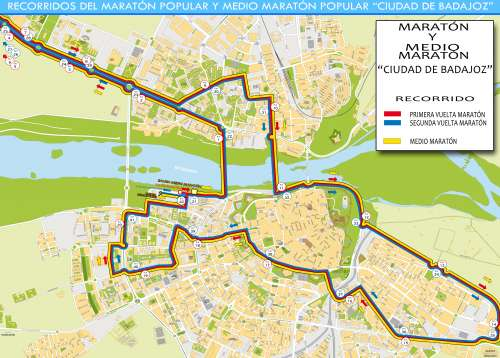 6º Medio Maratón Popular Ciudad de Badajoz