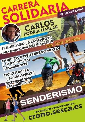 Senderista Solidaria CARLOS Podría Hablar