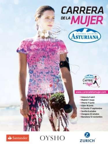 XIII Carrera de la Mujer de Barcelona Central Lechera Asturiana