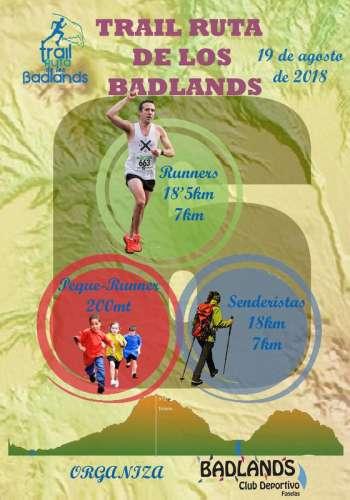 VI Trail Ruta de los Badlands