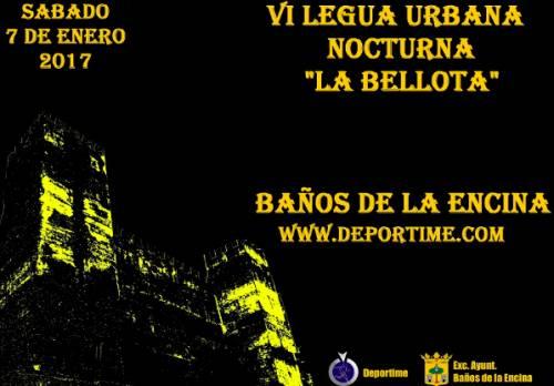VI Legua urbana Nocturna la Bellota