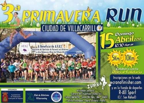 III Primavera Run Ciudad de Villacarrillo