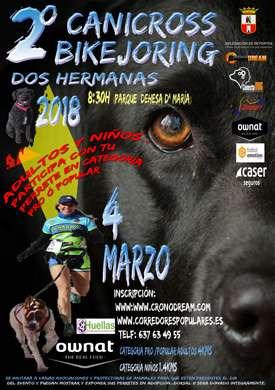 II Canicross Bikejoring/Patín Dos Hermanas