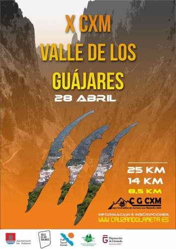 X CxM Valle de los Guájares