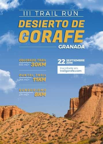 Carrera III Trail Run Desierto de Gorafe
