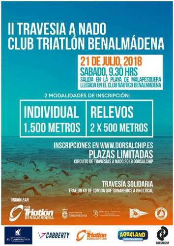 II Travesía a Nado Club Triathlon de Benalmádena