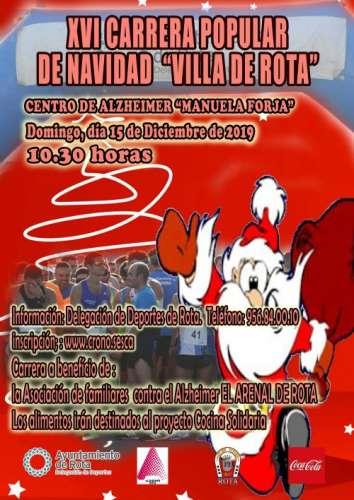 XVI Carrera Popular de Navidad Villa de Rota