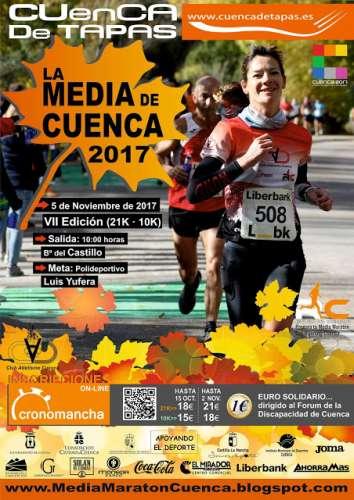 VII Media Maratón Cuenca de Tapas