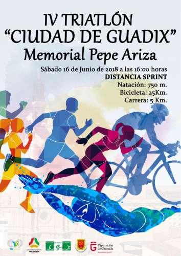IV Triatlón Ciudad de Guadix - Memorial Pepe Ariza