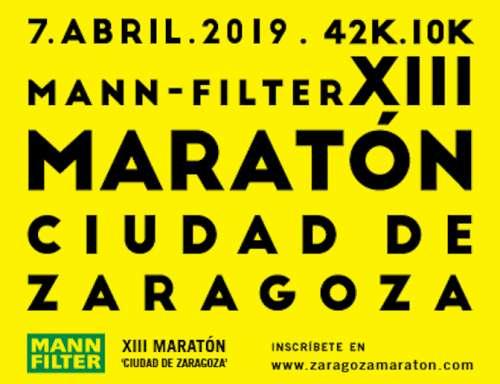 XIII Mann Filter Maratón Ciudad de Zaragoza