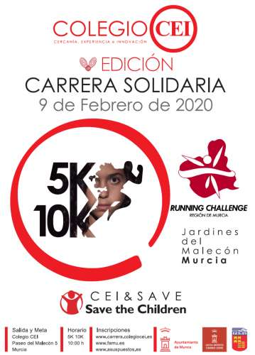 V Carrera Popular Save de Children Colegio CEI