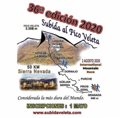 Carrera XXXV Subida al Pico del Veleta