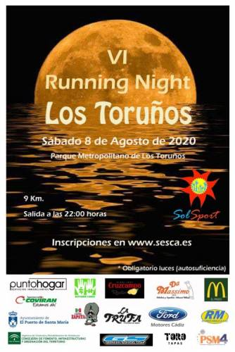 Carrera VI Running NIGHT Los Toruños