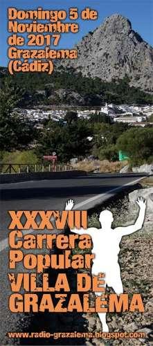 XXXVIII Carrera Popular Villa de Grazalema