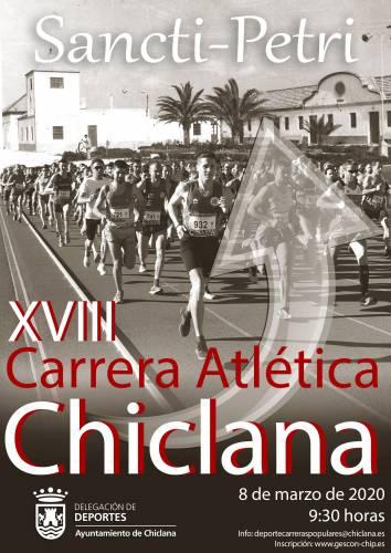 XVIII Carrera Atlética Chiclana-Sancti Petri