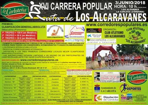 XVI Carrera Popular Ruta de los Alcaravanes