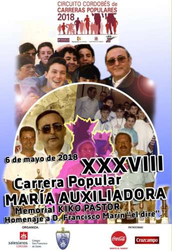 XXXVIII Carrera Popular María Auxiliadora