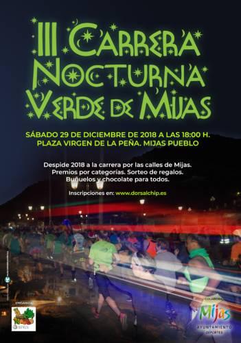 III Carrera Nocturna Verde de Mijas