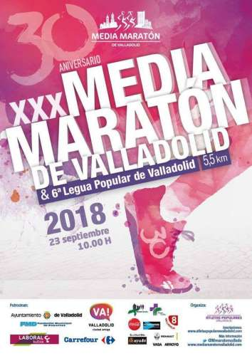 XXX Media Maratón de Valladolid