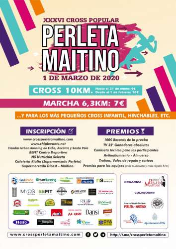 XXXVI Cross Popular Perleta Maitino
