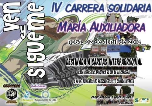 IV Carrera Solidaria Mª Auxiliadora