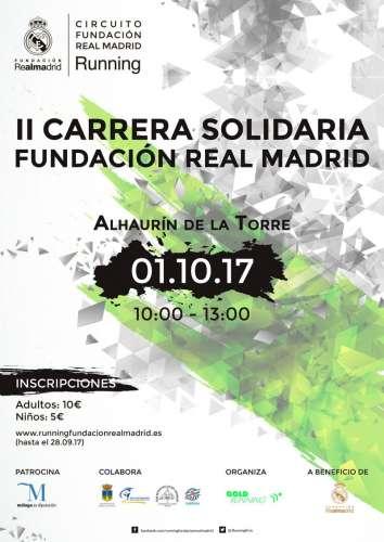 II Carrera Solidaria Fundación del Real Madrid